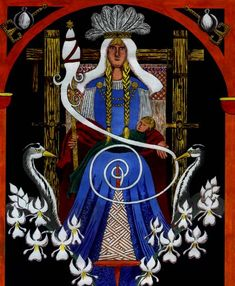 The Norse Goddess Frigg Norse Goddess, Norse Mythology, Norse Pagan, Wiccan, Witchcraft, Female Demons, Divine Mother, Mother Goddess, Viking Culture