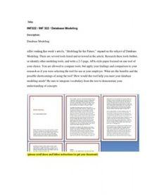 INF322  INF 322  Database Modeling --> http://www.scribd.com/doc/153771887/inf322-inf-322-database-modeling