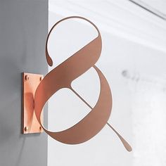 Sooner or later every graphic designer is asked to design a signage for a storefront or general way finding. Here are some awesome signage design inspiration I have been collecting from everywhere. Wayfinding Signage, Signage Design, Branding Design, Logo Design, Interior Design Logos, Metal Signage, Store Signage, Lettering Design, Corporate Design