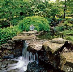 Rustic Garden in Ohio