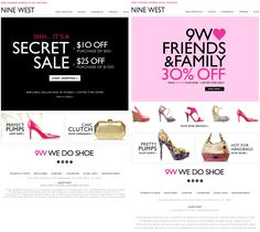 30% off everything and more at Nine West coupon via The Coupons App