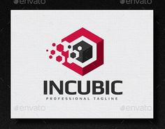"""Check out new work on my @Behance portfolio: """"Incubic Logo"""" http://be.net/gallery/36759261/Incubic-Logo"""