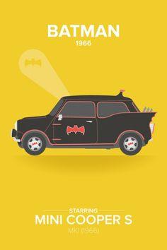 Este curioso trabajo de cartelería viene de la mano de la artista Laura Creed. Se trata de adaptaciones de carteles de películas donde el coche tenía una gran relevancia. El cartel no muestra el vehículo original de la película si no otros más modestos que...