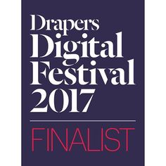 Monday could not be better! We're thrilled to announce our nomination at the Drapers Digital Festival 2017 in the category of Best App! 🙌🏼 We're happy to be celebrating this moment with you! Emma Willis, The Future Of Us, Festival 2017, Monday Motivation, Charity, Interview, British, David Gandy, In This Moment