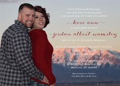 Kori Sorensen Back Simple Wedding Invitations, Announcement, Best Friends, Marriage, Couples, Happy, Beat Friends, Valentines Day Weddings, Bestfriends