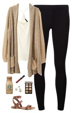 Such a perfect drag-yourself-to-the-coffee-shop leggings-for-summer outfit