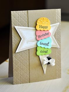 Birthday Card Ideas : Simply Stamped: Papertrey Ink – July Release Projects Part 2 Cricut Cards, Stampin Up Cards, Simply Stamps, Kids Birthday Cards, Card Tags, Creative Cards, Kids Cards, Cute Cards, Greeting Cards Handmade