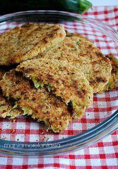 Hamburger di zucchine e Asiago  #Nutrición y #Salud YG > nutricionysaludyg.com