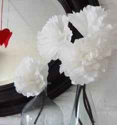 Fun Coffee Filter Flowers | AllFreeKidsCrafts.com