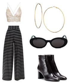 """""""Untitled #38"""" by pukiterozite on Polyvore featuring Yves Saint Laurent and GUESS"""