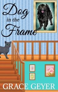 dog in the frame