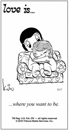 Love is. Number one website for Love Is. Funny Love is. pictures and love quotes. Love is. comic strips created by Kim Casali, conceived by and drawn by Bill Asprey. Everyday with a new Love Is. Love Is Comic, Love Is Cartoon, What Is Love, Love You, My Funny Valentine, Valentines, Love My Husband, Husband Wife, Sweet Words