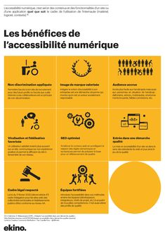 Infographie : Les bénéfices de l'accessibilité par Camille Fion