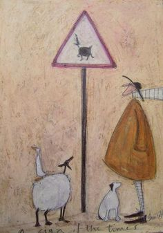A Sign Of The Times by Sam Toft