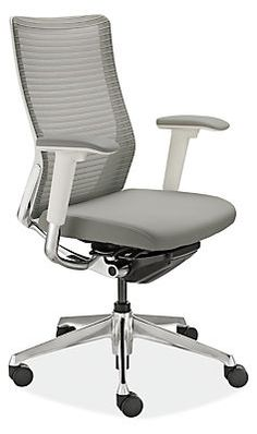 Under its simple, timeless design lies an advanced ergonomic solution. Our Choral office chair allows you to alter seatback tension with just a flick of your wrist. Its multi-density foam seat cushion is softer in front for thigh comfort and firmer in back for enhanced support. Enjoy support from an optional headrest that features four inches of height adjustment to promote healthy posture. Choral is a modern office chair option with easy personalization. This chair is available in the U.S…