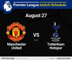 Match Schedule, Premier League Matches, The Unit, Day