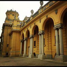 Széchenyi Baths in Budapest. #travel