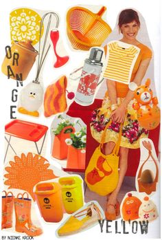 Color Inspiration - Orange and Yellow by Nienke Krook