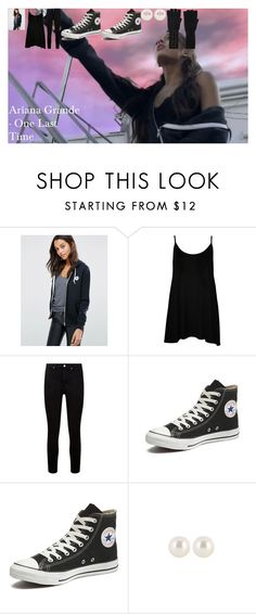 """""""Ariana Grande - One Last Time"""" by oroartye-1 on Polyvore featuring Converse, WearAll, Paige Denim, Henri Bendel and Autumn Cashmere"""