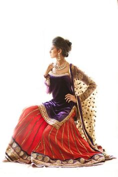 gorgeous lehenga - gharara ensemble