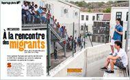 """""""Lampedusa - À la rencontre des migrants"""" (Phosphore n°411, septembre 2015). Téléchargez l'article en cliquant sur ce lien"""