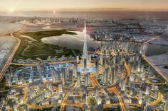 The new Dubai tower will be the centerpiece of a new 2.3 square-mile development…