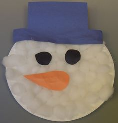 Early Childhood Education * Resource Blog Paper Plate Snowman & Paper plate snowman project | School Projects | Pinterest ...