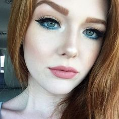 Vedi la foto di Instagram di @anastasiabeverlyhills • Make-up red hair pale skin