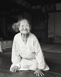 100 years old lady by shoichi ono