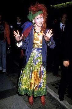 80s Cyndi Lauper