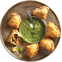 ALOO SAMOSE (INDIAN-SPICED POTATO PASTRIES)