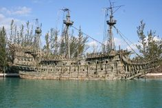 "The Pirates Museum in Nassau Bahamas on the island of New Providence chronicles the golden age of pirates in excellent interactive displays and a replica of the pirate ship called ""The Revenge."""