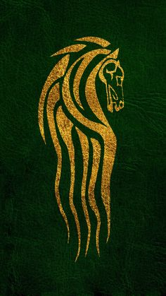 The Lord Of The Rings Wallpaper Rohan& flag - The Lord Of The Rings / The Hobbit Aragorn, Gandalf, Legolas, Thranduil, Lord Of Rings, Lord Of The Rings Tattoo, Hobbit Tolkien, The Hobbit, Hobbit Hole