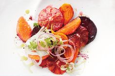 Find the recipe for Blood Orange, Beet, and Fennel Salad and other fruit recipes at Epicurious.com