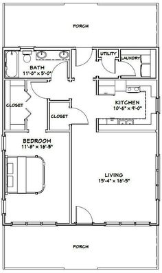Small Cottage Floor Plans...Compact Designs For Contemporary ...