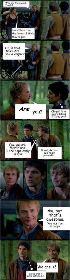 merthur fanart | tristan meets merthur by freyasaivareinen fan art cartoons comics ...