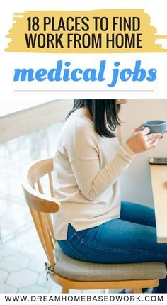 Looking For A Medical Work At Home Job Working From Home In The