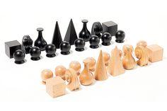 When Modern Art Met the Classic Chess Set