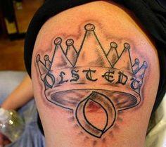 A tattoo I did Leg Tattoos, I Tattoo, Crown Tattoo Design, Pink Crown, Lion Art, Deathly Hallows Tattoo, Body Art, Tattoo Designs, Grey