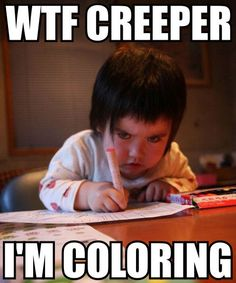 Adorable,Angry,Annoyed,Baby,Child,Children - inspiring picture on PicShip.com (stfu,go away,whore,creeper)