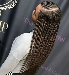 Side Part Layered Braids Long And Neat Braids Hair