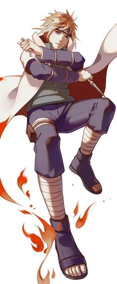 Day 17: Favorite Kage is Minato Namikaze because he is a brave and heroic paladin who has earned his role as hokage. I respect Mianto for his intelligence as a leader of his former squad and his strength in commanding against the Nine Tails. Minato has also impacted me by teaching Naruto so many things, even in a short period of time and teaching him things before Naruto met him.