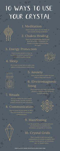 Ten ways to use your crystals for spiritual self-healing. Ten ways to use your crystals for spiritual self-healing. Crystal Healing Stones, Crystal Magic, Stones And Crystals, Crystal Uses, Crystal Pendulum, Crystals And Gemstones, Self Healing, Chakra Healing, Healing Herbs
