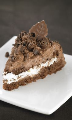 Mehevä suklaakakku | Maku Xmas Desserts, Sweet Desserts, Sweet Recipes, Yummy Snacks, Yummy Food, Baking Recipes, Cake Recipes, Sweet Cakes, Sweet And Salty
