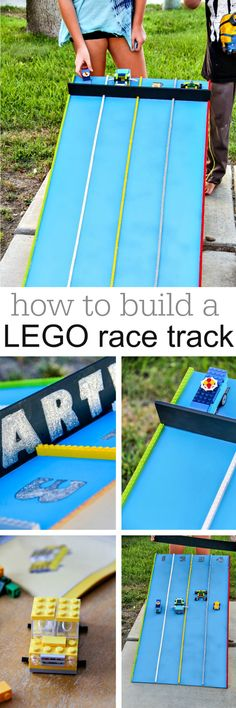 How to make a LEGO race track for kids #KeepBuilding #sponsored