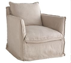 Awesome Deconstructed Linen Chair wisteria,com