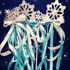 Frozen magic wand for frozen Birthday party. by: glitzcreativedubai