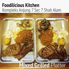 Mixed Grilled Platter RM49.90  #bestseller #mixedgrilledplatter #7spices #lambchop #striploinsteak #shitakegrilledchicken #bolognese #foodiliciouskitchen #makansedap #affordable #halal #westernfood #shahalam #recommended on #tripadvisor #jjcm #nstp #kosmo