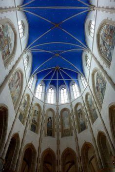Het koorgewelf van de Martinikerk, Groningen.