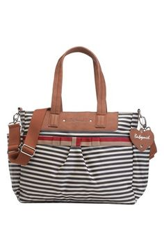 Free shipping and returns on Babymel 'Cara' Diaper Bag at Nordstrom.com. Easy-clean coated cotton styled with sleek stripes provides a street-savvy, fuss-free finish for a spacious diaper bag. An insulated bottle pocket and water-repellent bottom panel provide added on-the-go convenience.
